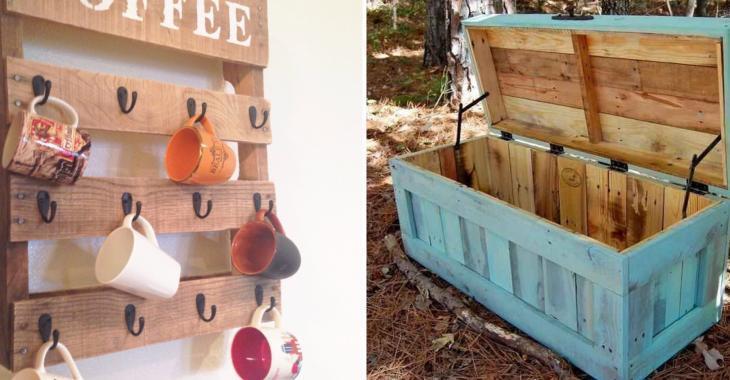 Aimez-vous l'idée d'incorporer du bois de palette dans votre décor?