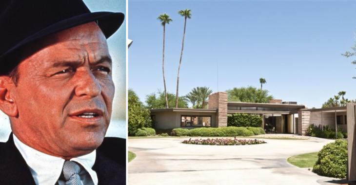 Louez la maison de Palm Springs de Frank Sinatra pour vos prochaines vacances!