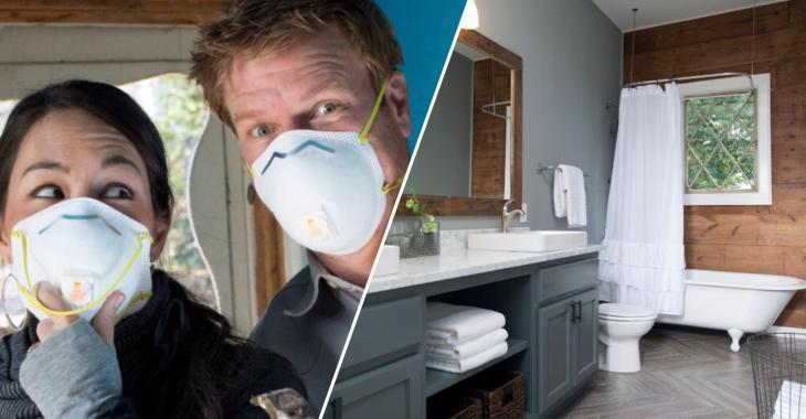 Les plus belles transformations de salles de bains réalisées par Chip et Joanna Gaines!