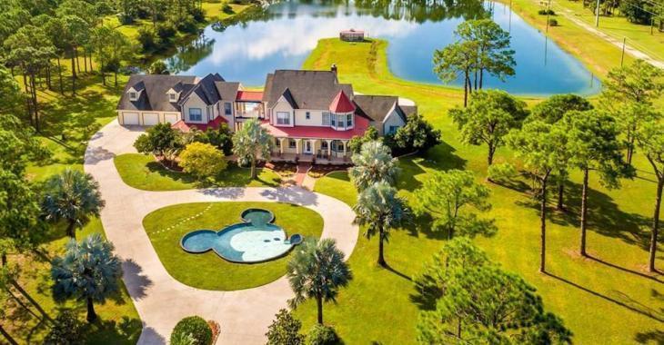 Cette maison à thématique Disney pourrait être à vous pour la modique somme de 850 000$