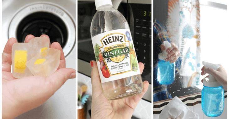 Vous ne devriez jamais nettoyer les choses suivantes avec du vinaigre.