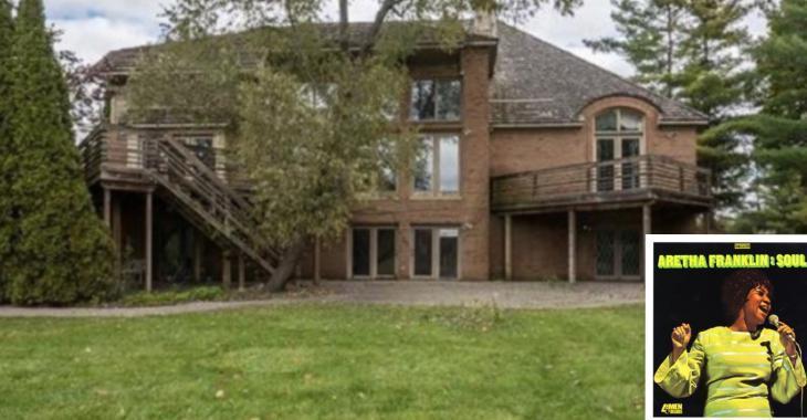 La maison d'Aretha Franklin est à vendre pour 800 000 $.