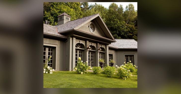 Le salon de cette résidence a été voté comme l'un des 25 plus beaux salons du Québec.