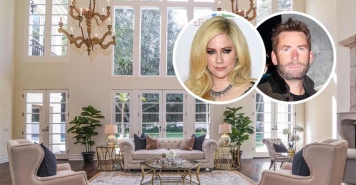 La chanteuse Avril Lavigne et son ex-conjoint ont placé leur superbe résidence à vendre