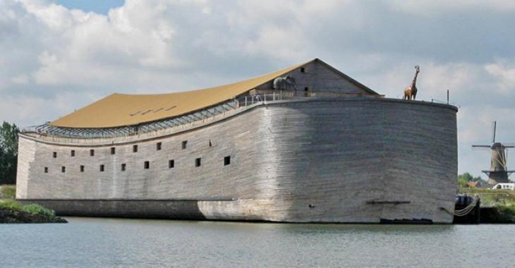 Un Néerlandais décide de construire une arche comme dans la Bible