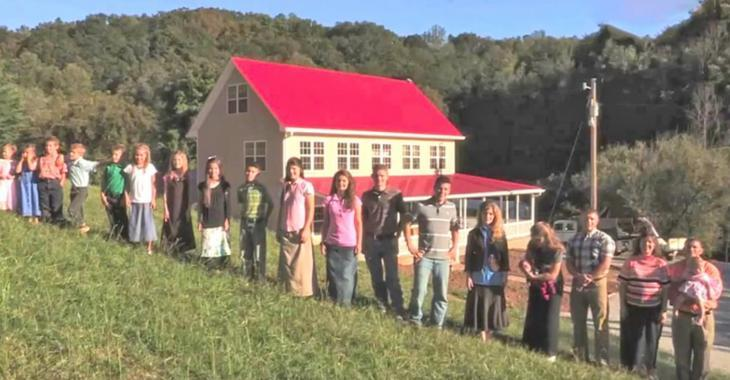 Une famille de 19 enfants habite dans cette maison