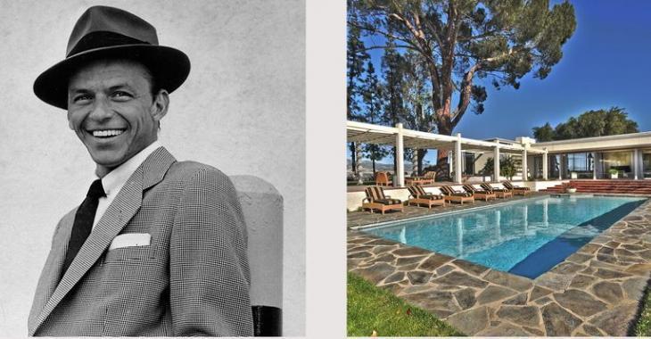 Visitez l'intérieur de la spectaculaire résidence à vendre de Frank Sinatra