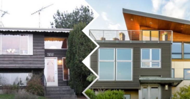 Avant/après, 10 incroyables transformations de maisons