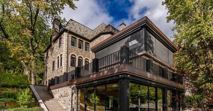 Découvrez le magnifique intérieur de cette résidence à vendre de Montréal