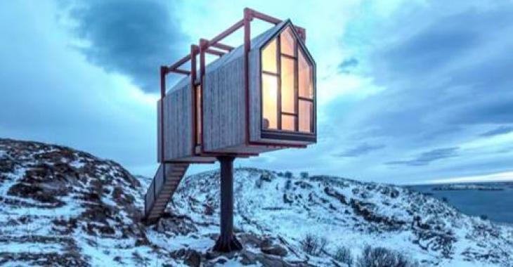 Cet hôtel de l'Arctique est parfait pour les personnes qui veulent se couper du monde