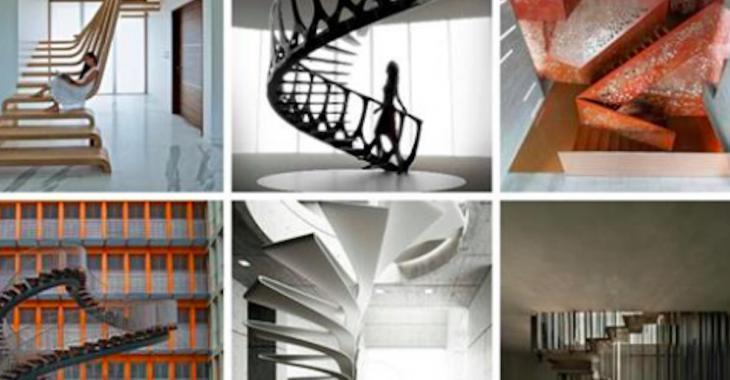 15 escaliers fabuleux qui sont de véritables oeuvres d'art