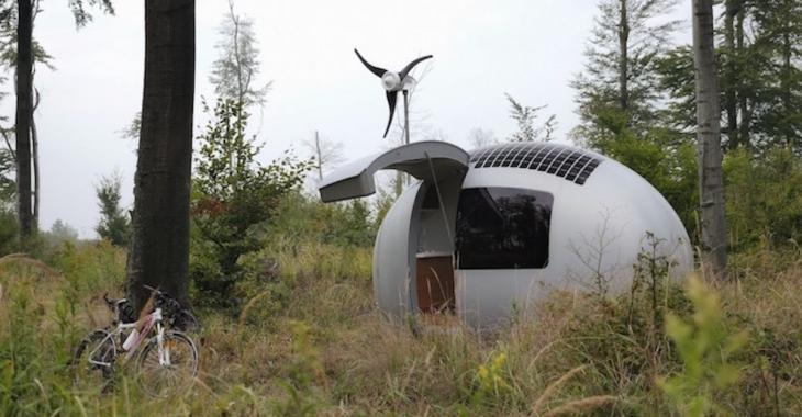 Cette capsule solaire vous permet de vivre n'importe où!