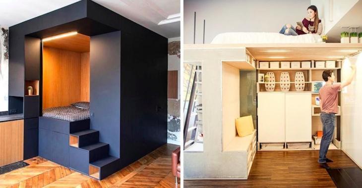 Petits appartements: 17 astuces pour gagner de l'espace