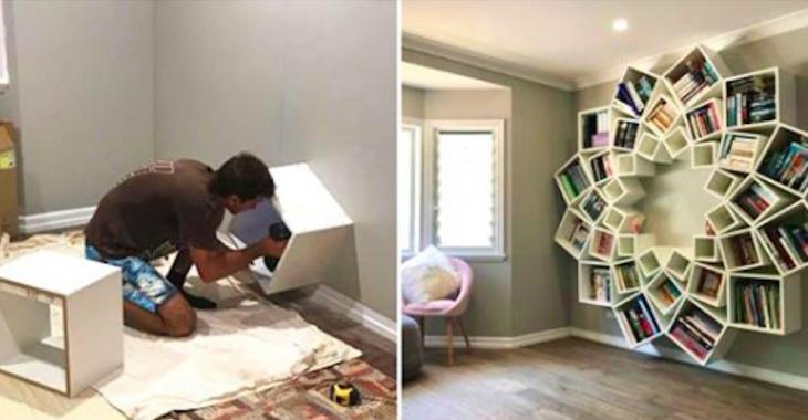 Ces parents ont fabriqué une fabuleuse bibliothèque pour leurs enfants