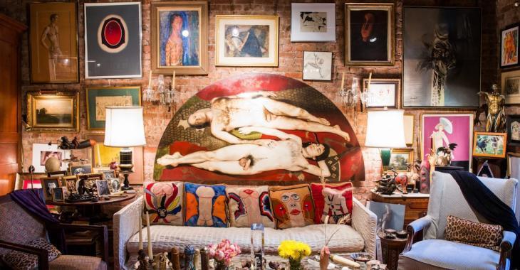 Cet appartement newyorkais abrite une collection d'art vraiment insolite