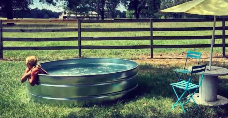 Ce genre de bassin fera encore fureur cet été!