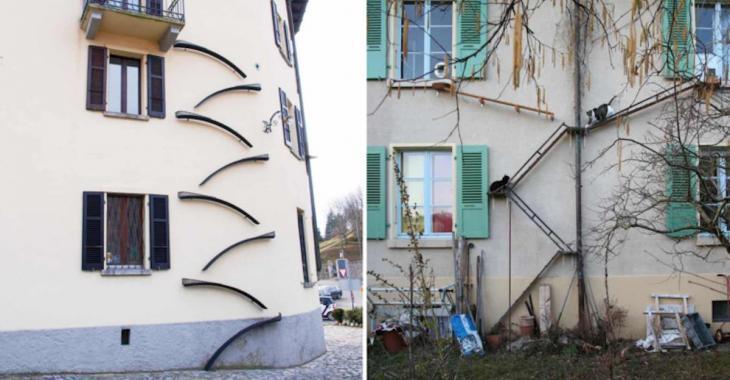 Une ville de Suisse se démarque à cause de ses « escaliers pour chats »