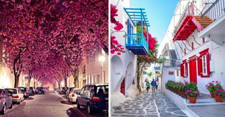 23 superbes rues qui vous feront rêver!