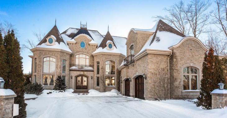 Cette immense demeure de Fontainebleau est disponible sur le marché
