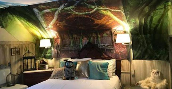 Fans d'Harry Potter, voici la chambre que vous devez louer pour vos prochaines vacances!