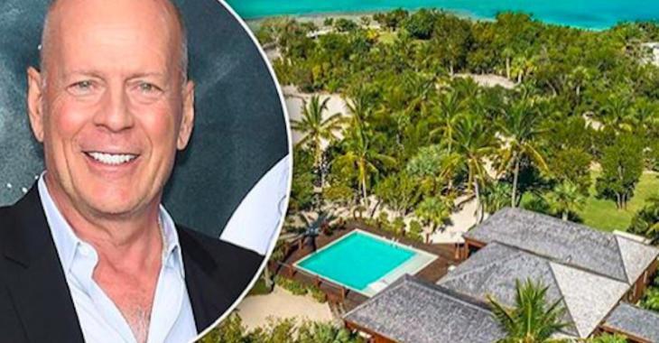 Bruce Willis vend sa propriété des îles Turques-et-Caïques pour la somme de 33 M $