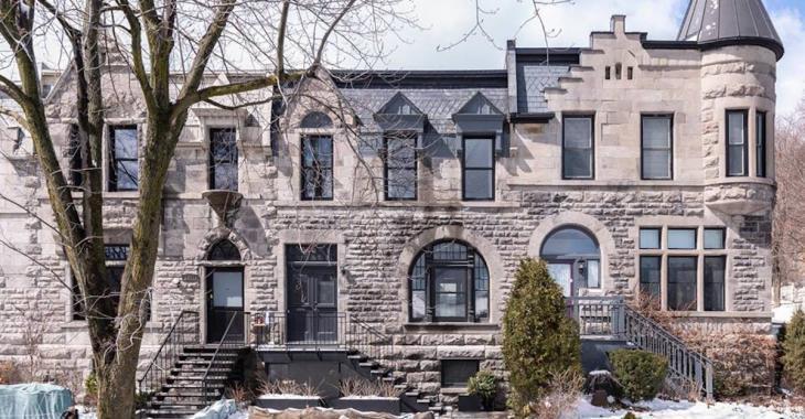 Location de luxe : jetez un oeil à cette maison victorienne de Westmount