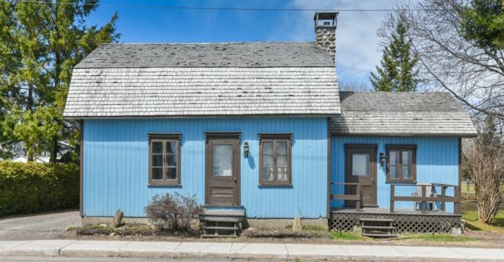 Vous aimeriez habiter dans une autre époque? Jetez un oeil à cette maison de Mirabel!