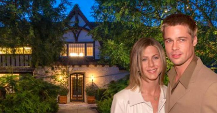 Jennifer Aniston et Brad Pitt ont passé 3 ans à rénover ce domaine de Beverly Hills avant leur divorce. Il est aujourd'hui à vendre pour 56 000 000$
