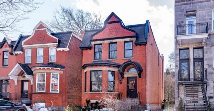 Jetez un oeil à cette maison familiale d'architecture Victorienne à vendre dans Westmount.