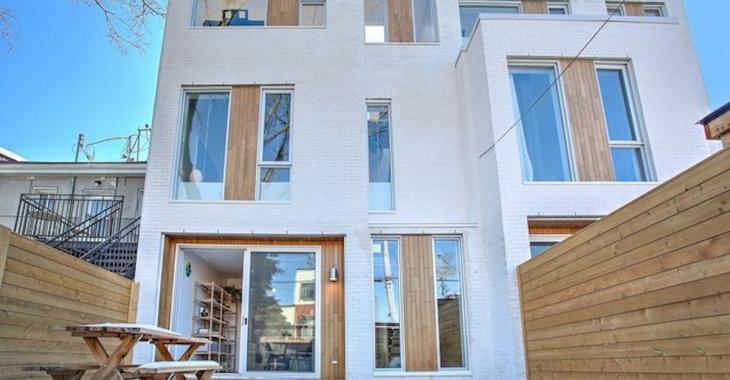 Cette maison à louer sur le Plateau Mont-Royal n'est pas donnée, mais elle vaut le coup d'oeil!