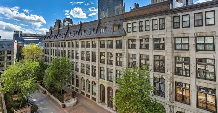 Cette demeure de 1900 située dans le Vieux-Montréal possède un cachet incomparable
