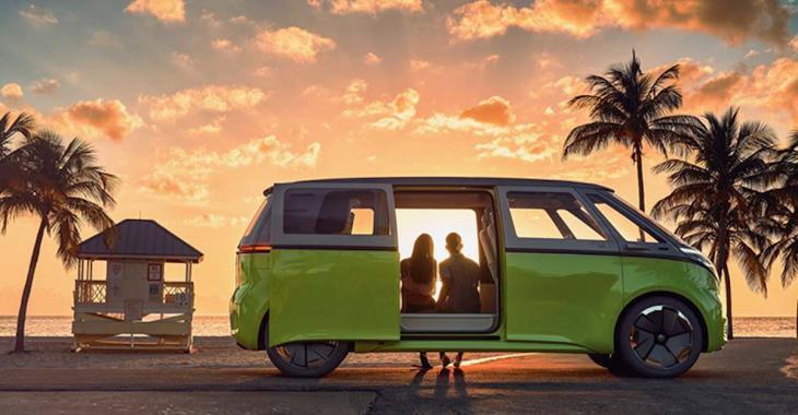 Bonne nouvelle pour les nomades: la fourgonnette hippie de Volkswagen est de retour!