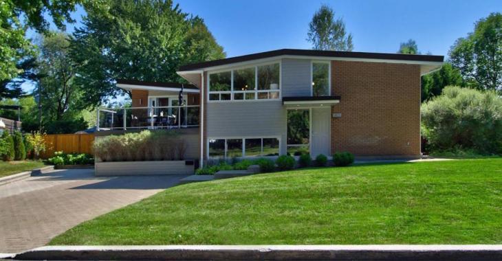 Cette maison des années 60 a su entrer dans le nouveau millénaire de bien belle façon!
