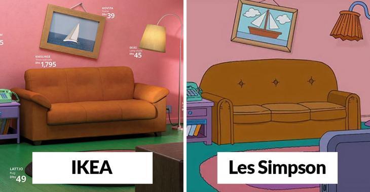 Aimeriez-vous recréer les célèbres salons des Simpson, de Friends ou de Stranger Things? Laissez IKEA vous guider!