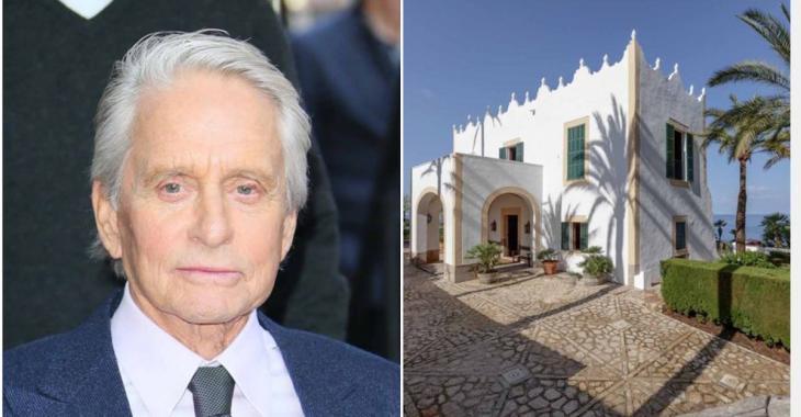 Pour arriver à enfin vendre sa villa espagnole de 32 000 000$ , l'acteur Michael Douglas commente lui-même la vidéo promotionnelle