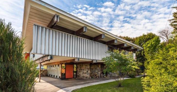 Jetez un oeil à cette maison à l'architecture unique!