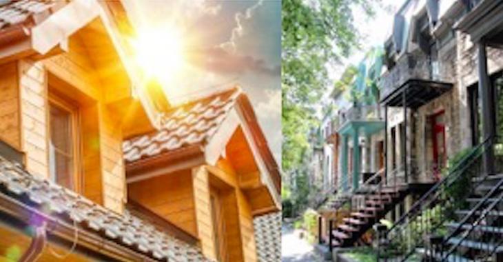 Ville ou en banlieue: où acheter une maison?