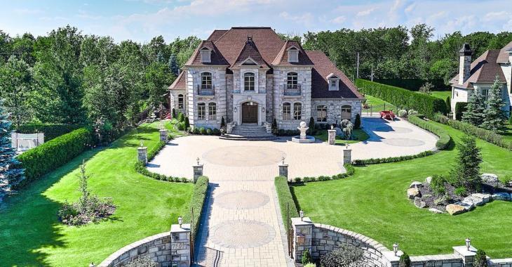Vie de château à Boucherville pour un peu plus de 2 000 000$