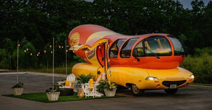 Aimeriez-vous dormir dans… un hot-dog?