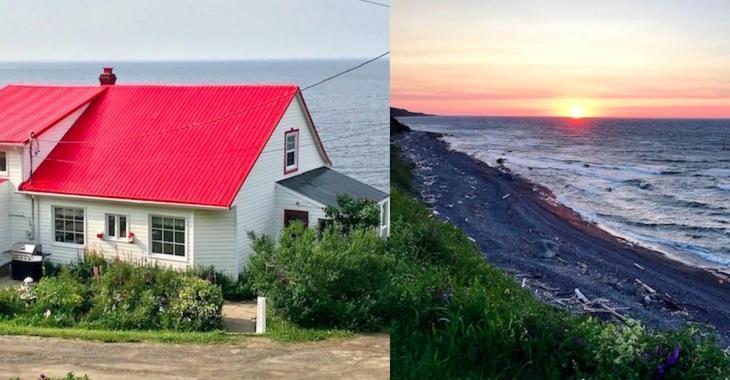 À vendre: maison centenaire avec vue sur la mer pour moins de 95 000$!