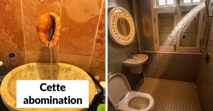 Les 22 pires aménagements de salle de bain de l'histoire moderne!