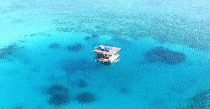 Ce resort vous offre la chance de dormir sous l'eau et admirer le fond marin