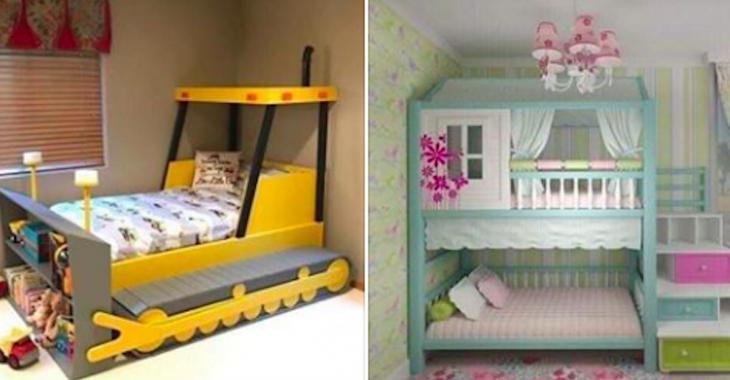 15 idées fabuleuses de lits d'enfants!