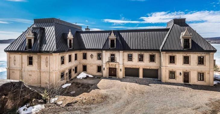 Ce château québécois est à vendre aux enchères
