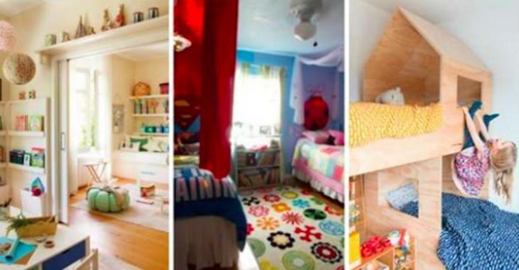 12 merveilleuses idées pour aménager une chambre pour 2 enfants
