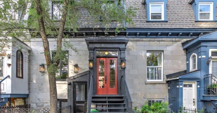 Cette maison de prestige de Petite-Bourgogne est sur le marché pour 1 385 000$