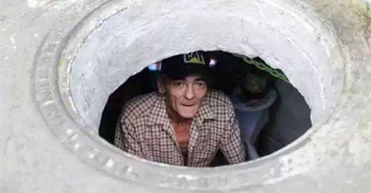 Un couple qui vit dans les égouts depuis plus de 10 ans nous présente sa maison