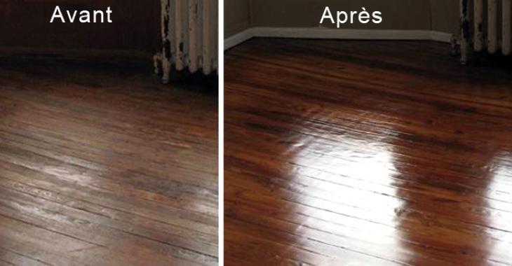 Une recette pour redonner à votre plancher de bois franc tout son éclat.
