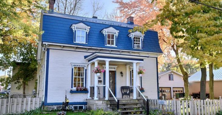 Coup de foudre assuré pour cette splendide maison au charme victorien à 1 heure de Montréal