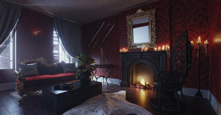 Que diriez-vous de passer la nuit dans une réplique de la résidence de la famille Addams?